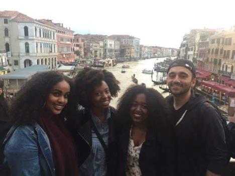 Friends abroad in Venice!
