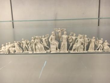 Greek Gods on Parthenon model