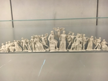 Greek Gods on Parthenon model