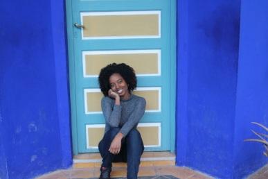 A gem of Blue in Jardin Majorelle