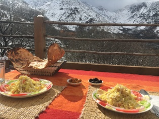 Lunch in the mountains